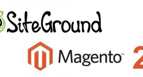 Siteground e Magento 2